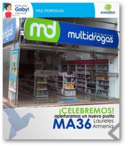 Droguerias Multidrogas Cartago