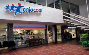 Oficinas Cajacopi en Colombia