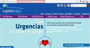 Certificado de Afiliación Capital Salud 2021
