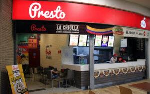 Restaurantes Presto en Bogota